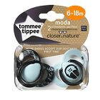 Tommee Tippee Baby Soother Dummy Pacifier Nipple 0-6m   6-18m 2 Pack Boy   Girl