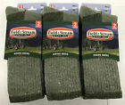 6 Pair Field & Stream Men's Merino Wool Crew Socks