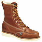 "Thorogood 804-4208 American Heritage Wedges Safety Toe 8"" Moc Toe Work Boot"
