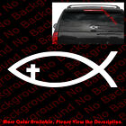 Home Decorators Vauxhall Nj JESUS CROSS CHRISTIAN FISH Phone/Car/Window/laptop Vinyl Decal Sticker JS010 Home Decor Tray