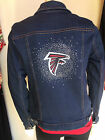 ATLANTA FALCONS NFL Womens Blinged Jean Jacket NWT $180 Size SM-4X  Best Seller on eBay