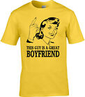 Boyfriend Mens T-Shirt Gift Idea Occupation Valentine Valentine's Day For Him