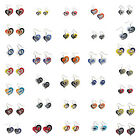 Swirl Heart Earring Dangle Charm NFL PICK YOUR TEAM $6.97 USD on eBay