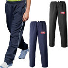 Fashion Nine Embroidered Logo Piped Training Trouser  Mens Size