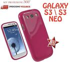 COVER CUSTODIA CASE IN GOMMA GEL SILICONE TPU per SAMSUNG GALAXY S3  S3 NEO