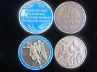 Your choice of 2 Different Christian Medals - 38mm - 40mm
