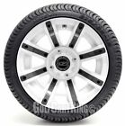 "Golf Cart Wheels and Tires Combo - 14"" Avenger (Color Option) - Set of 4"