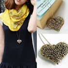 Carved Retro Love Heart Shaped Hollow Necklace Long Necklace Fashion Pendants