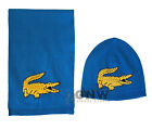 LACOSTE CHILDREN/KIDS AGE 2-6 Years BRIGHT BLUE SCARF & HAT SET Size S/M Was £75