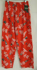 "Men's Red ""Keep Calm and Drink Beer"" Pajama Lounge Pants Sleepwear NWT"