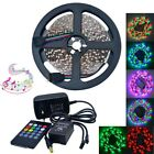 25W LED Light Strip RGB 300-3528SMD w/ Music LED Controller (DC 12V / 5m)