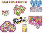 SHOPKINS KIDS BIRTHDAY PARTY RANGE Tableware Balloons Decorations