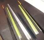 "30"" MEDIUM ACTION WALLEYE Solid Fiberglass Ice Fishing Rod Blank Wholesale Lot"
