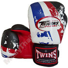 Twins Special Muay Thai Boxing Fancy Gloves FBGV-44TH-RD Black 8-10-12-14-16 oz.