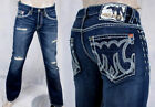 MEK Denim Jeans Men's WASHINGTON slim bootcut button fly dalton M01WABA005-4