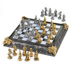 Medival Knights and Dragons Chess Set Chessboard Storage Case Display CLEARANCE