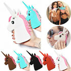 3D Cool Unicorn Soft Silicone Case Cover For iPhone 7 6 6s Plus 5 5s SE 5c 4 4s