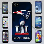 New England Patriots 2017 Super Bowl 51 Champions for iPhone & Galaxy Case Cover