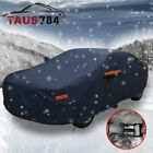 15 Layer Car Cover Waterproof Breathable Sun UV Snow Rain Dust Wind Resistant US