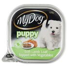 5x My Dog SOFT LAMB LOAF TOPPED WITH VEGETABLES PUPPY FOODS 100g*Australian Made