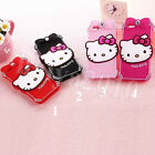 HelloKitty With Diamond Silicone Back Case Cover For iPhone 5S iPhone 6 &6 Plus