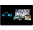 Sling TV Gift Card - $25 $50 or $100 - Fast Email delivery