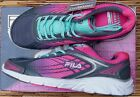 "FILA ""MEMORY NARROW ESCAPE"" WOMEN'S COOLMAX LEATHER & MESH RUNNING SHOES LIST$60"