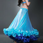 C248 Pro Belly Dance 2 ply. Skirt with a Slits Belly Dancing Skirt