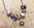 European Style Snake Chain Necklace Crystal Sparkle Classy Valentines Day Gift