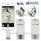 128 64 32G USB i Flash Drive U Disk Memory Stick For iOS For iPhone X 8 7 6 Plus