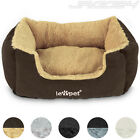 Dog Bed Cat Kitten Pet Puppy Basket Soft Washable Pillow Bedding Mat Indoor