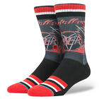 STANCE NEW Mens Black Legends Of Metal Socks Slayer BNWT