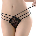 Women Lace Strappy V-string Panties Thongs G-string V-string Underwear Knickers