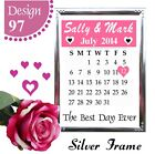 PERSONALISED WEDDING ANNIVERSARY DATE GIFT PRESENT WORD ART DATE GIFTS