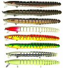 "Blitz Bite 8"" EEL Bass Pike Fishing Bait Swimbait Lure Life-like"