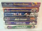 LOT OF 6 Disney SEALED Black Diamond Beauty and the Beast Masterpiece Snow Whit