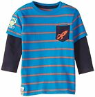 *BNWT Hatley Boys Long Sleeved 2 in 1 T-Shirt Top Space Adventure Soft Warm Cosy