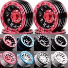 "RC 1.9"" Beadlock Aluminum Wheel Rim For 1/10 Rock Crawler 1060 Axial SCX10 D90"