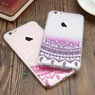 Ultra Thin Clear Pattern Rubber Silicone TPU Case Cover For Various Mobile Phone
