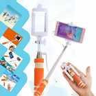 Mini Foldable Compact Extendable Handheld Self Timer Wired Selfie Stick Monopod