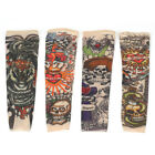 Fake Nylon Kid Temporary Tattoo Sleeves Arm Stocking Goth Punk Child Pack of 2