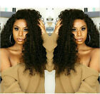 Full/Lace Front Wig  Braziliandeep curly Remy Human Hair Lace Wigs 130% density