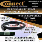 RUBBER FUEL HOSE - FOR UNLEADED PETROL, DIESEL, OIL LINE FUEL PIPE (300psi)