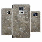 hard durable case cover for many mobile phones - marble design ref q354