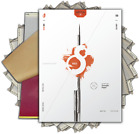 S8 RED Tattoo Stencil Paper - Thermal and Impact Ready