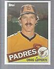 1985 Topps Baseball #501-650 - Finish Your Set-WE COMBINE S/H