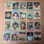 Topps Footballers 1977 (Red Backs) (Nos 166 - 330) Your Choice of Cards