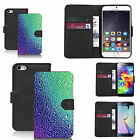 faux leather wallet case for many Mobile phones - versicoloured
