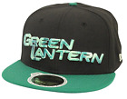 New Era 59Fifty Sub Glow Green Lantern Black Green Fitted Cap