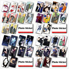 Lot of & Set Japanese Anime YURI!!! on ICE Poster Photo Crystal Card Stickers